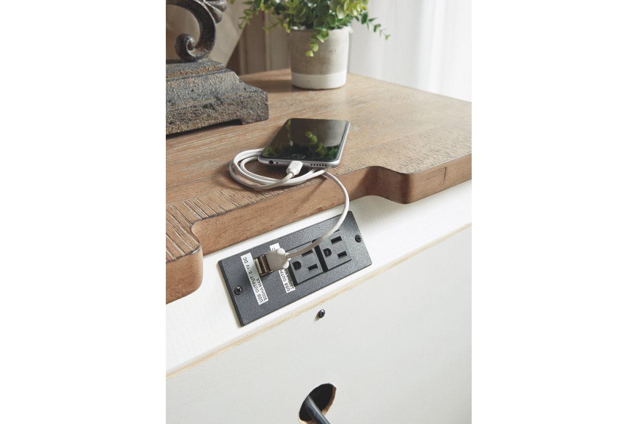 Three Drawer Nightstand Demeyer Furniture