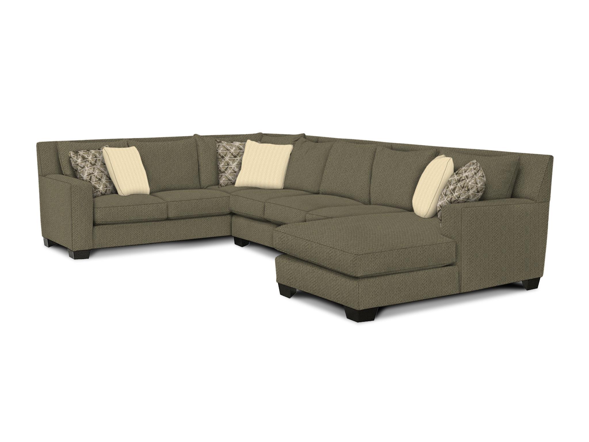 2 Piece Sectionals W/LAF Corner Sofa