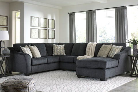 3 Piece Sectionals W Raf Chaise